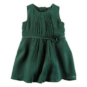 Carter's Short Sleeve Babydoll Dress - Baby