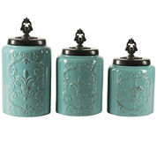 Jay Imports 3-pc. Canister