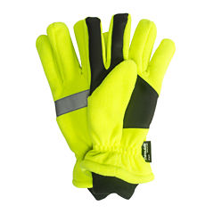 QuietWear® Waterproof Thinsulate™ High Visibility Fleece Gloves