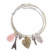 Sandra Magsamen Womens Cubic Zirconia Bangle Bracelet