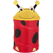 Honey-Can-Do® Ladybug Medium Pop-Up Hamper