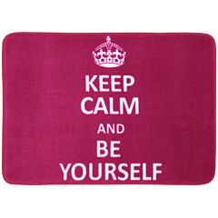 Mohawk Home® Keep Calm and Be Yourself Bath Rug