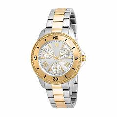 Invicta Womens Two Tone Bracelet Watch-21685