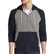 Arizona Colorblock Full-Zip Fleece Hoodie