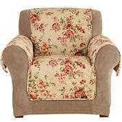 SURE FIT® Lexington Floral 1-pc. Chair Pet Furniture Cover