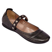 Strictly Comfort Bandit Mary Jane Ballet Flats