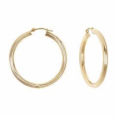 Majestique 18K Gold Hoop Earrings