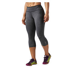Reebok® Reversible To Black Capris