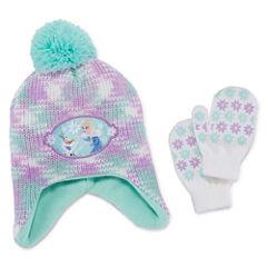 Abg Girls 2-pc. Frozen Cold Weather Set-Big Kid