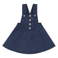 Levi's Freeform Sleeveless Roll Sleeve A-Line Dress - Baby Girls