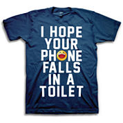 Toilet Phone Short Sleeve Graphic T-Shirt