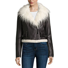 a.n.a® Faux-Fur Collar Jacket