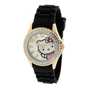 Hello Kitty® Crystal-Accent Watch