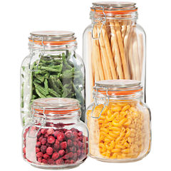 OGGI™ 4-pc. Glass Canister Set