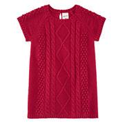 Arizona Long Sleeve Sweater Dress - Baby