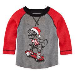 Arizona Long Sleeve T-Shirt-Baby Boys
