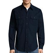 St. John's Bay® Long-Sleeve Chamois Shirt
