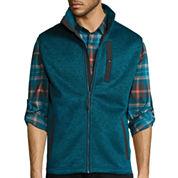 St. John's Bay® Terra Tek Sweater Fleece Vest
