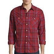 Arizona Long Sleeve Poplin Woven Shirt