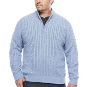 IZOD® Long-Sleeve Durham Sweater - Big & Tall