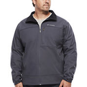 Columbia® Smooth Spiral Softshell Jacket - Big & Tall