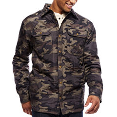 ARGYLECULTURE Long-Sleeve Quilted Camo Jacket