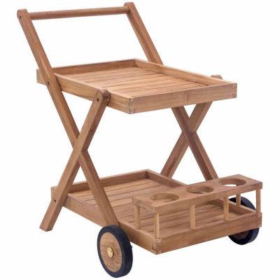 Beautiful Zuo Modern Regatta Patio Serving Cart