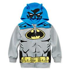 Batman Costume Hoodie - Toddler Boys 2t-5t