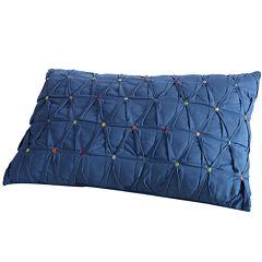 Fiesta Embroidered Dot Oblong Decorative Pillow
