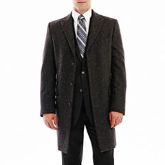 Stafford® Donegal Tweed Topcoat