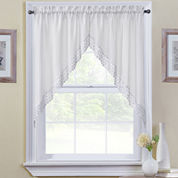 Kitchen valances beige curtains drapes for window jcpenney - Jc penny kitchen curtains ...