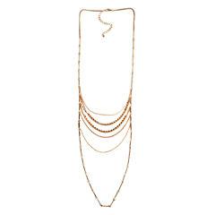 Arizona Womens 34 Inch Link Necklace
