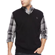 U.S. Polo Assn.® Fine Gauge Sweater Vest