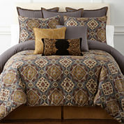 Royal Velvet® Montague 4-pc. Comforter Set & Accessories