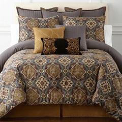 Royal Velvet Montague 4-pc. Comforter Set & Accessories