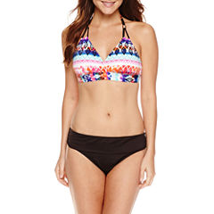 a.n.a Ikat Stripe Halter Top or a.n.a Hipster  Bottoms