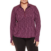 Xersion Quarter-Zip Pullover Plus