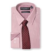 GRAHAM & CO. STRIPE DRESS SHIRT AND TIE