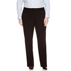 Liz Claiborne Audra Slim Suiting Pant-Plus