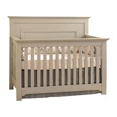 Muniré Furniture Chesapeake Full Panel Crib - Light Gray
