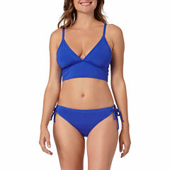 a.n.a® Mix & Match Long-Line Bra Swim Top or Keyhole Hipster Swim Bottoms