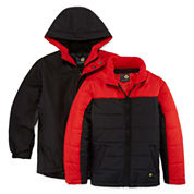 Xersion Boys Heavyweight 3-In-1 System Jacket-Big Kid