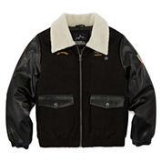 iXtreme Wool Blend Bomber Jacket - Boys 8-18