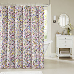 Madison Park Tesimo Cotton Shower Curtain