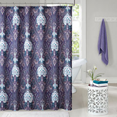 Intelligent Design Neeva Shower Curtain