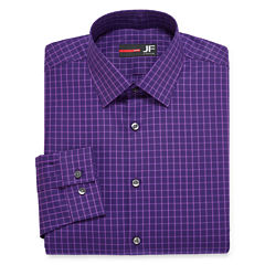 JF J. Ferrar® Long-Sleeve Cotton Stretch Dress Shirt - Slim Fit