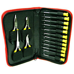 Stalwart™ 16-pc. Precision Jewelers Tool Set