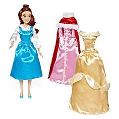 Disney Collection Belle Wardrobe Doll Set