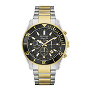 Bulova® Marine Star Mens Two-Tone Stainless Steel Watch 98B249