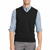 Izod V Neck Cotton Sweater Vest